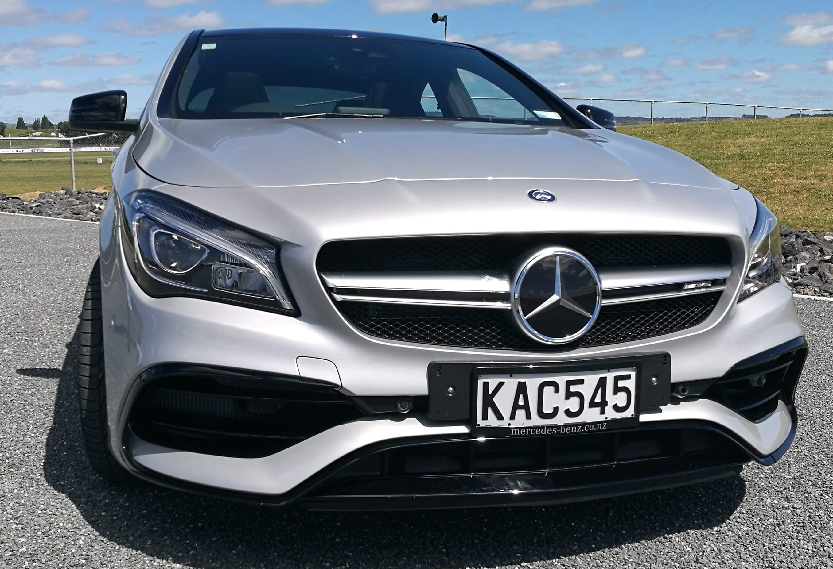 Mercedes-AMG CLA 45 review New Zealand