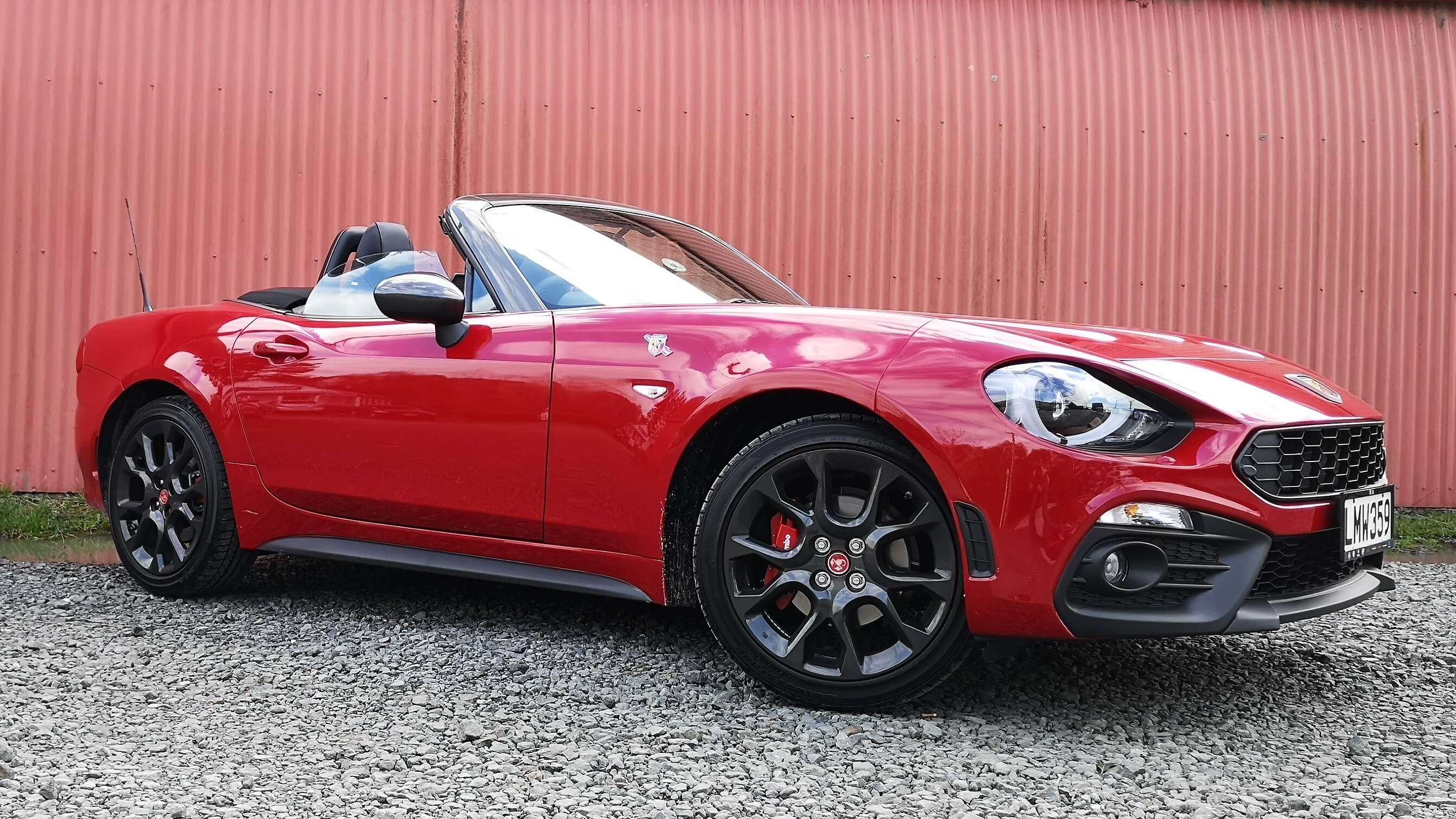Fiat 124 Spider Abarth review New Zealand