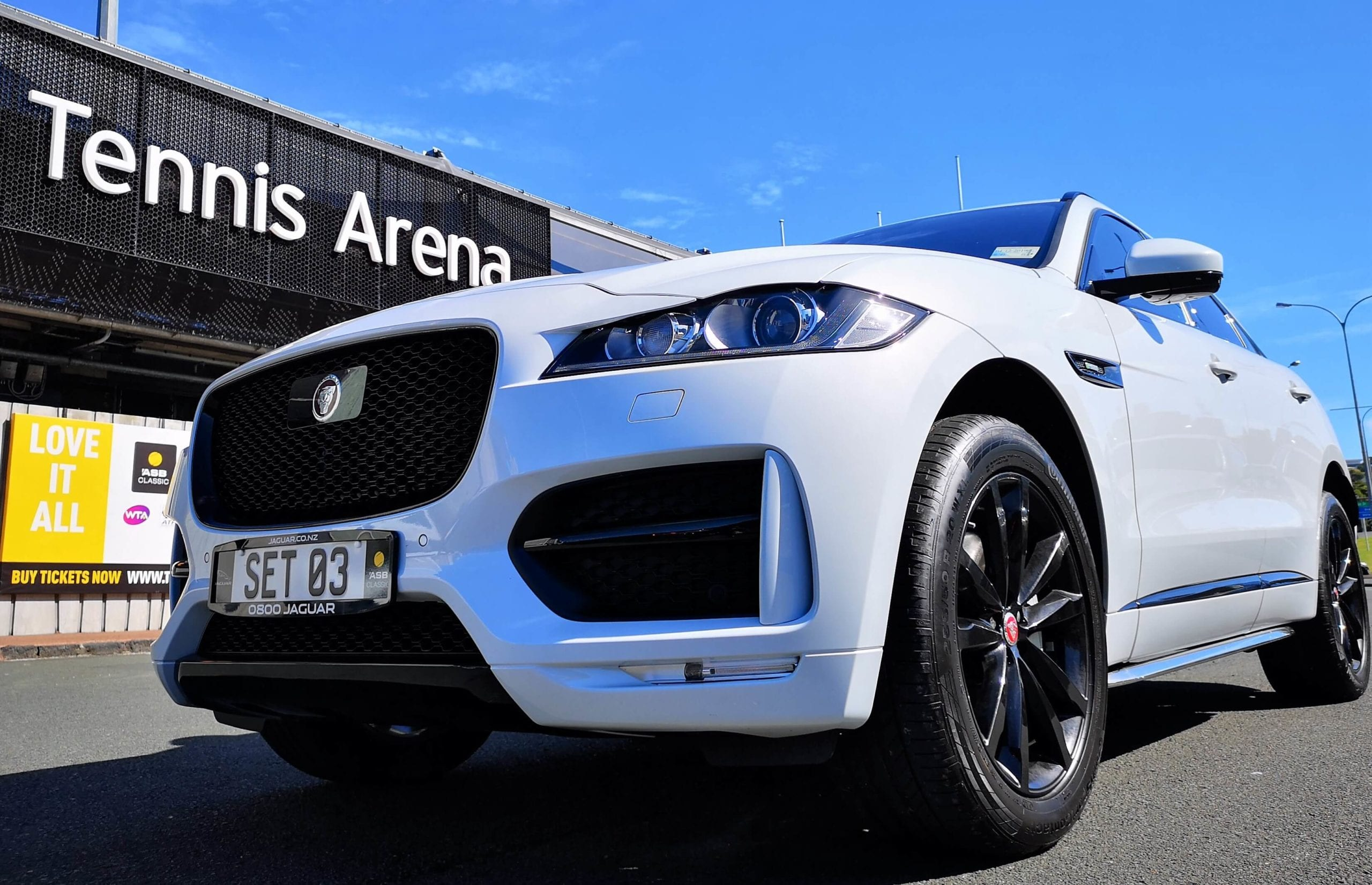 Jaguar F-Pace 30t Review New Zealand