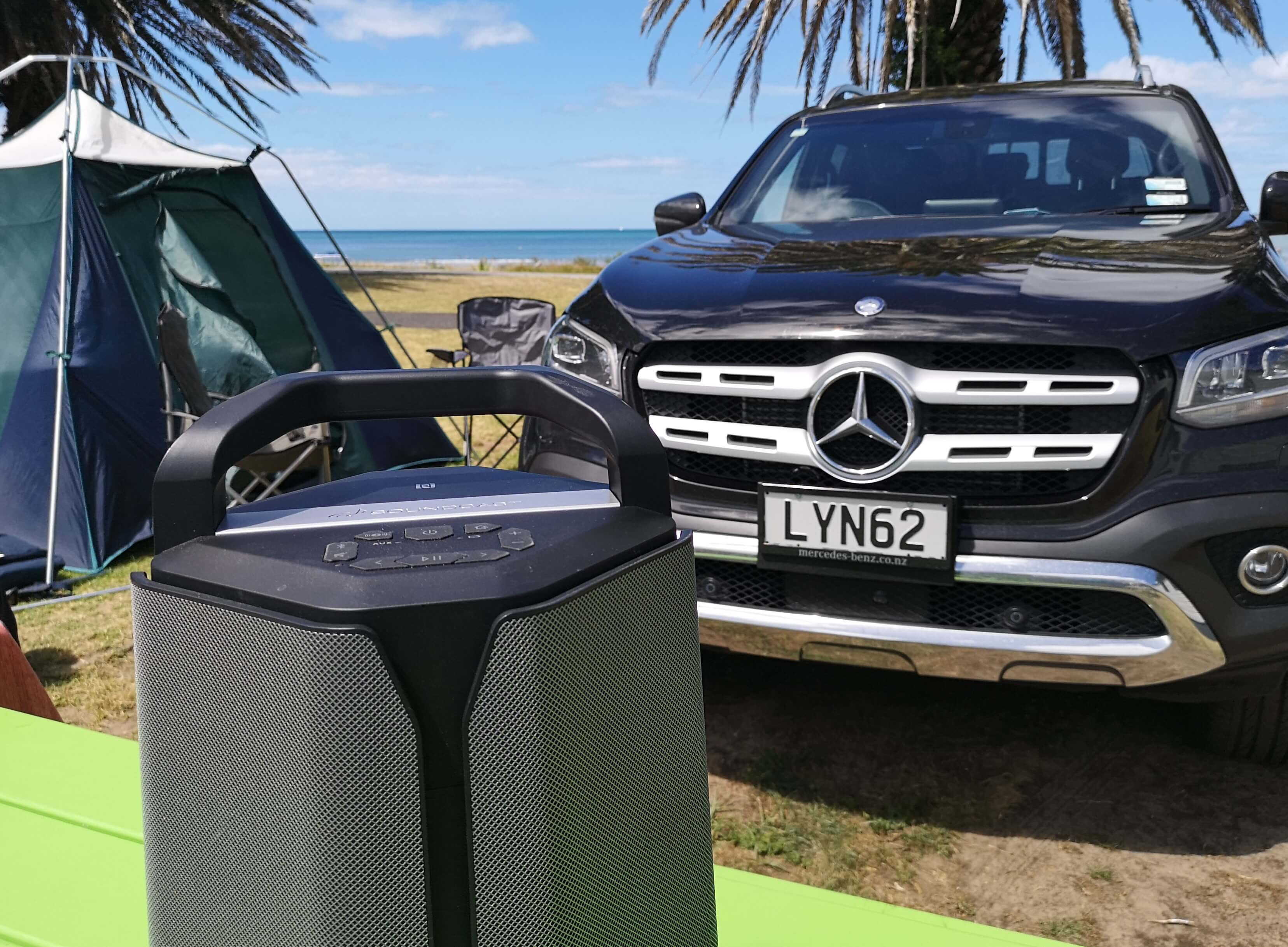 Soundcast VG7 with Mercedes X-Class