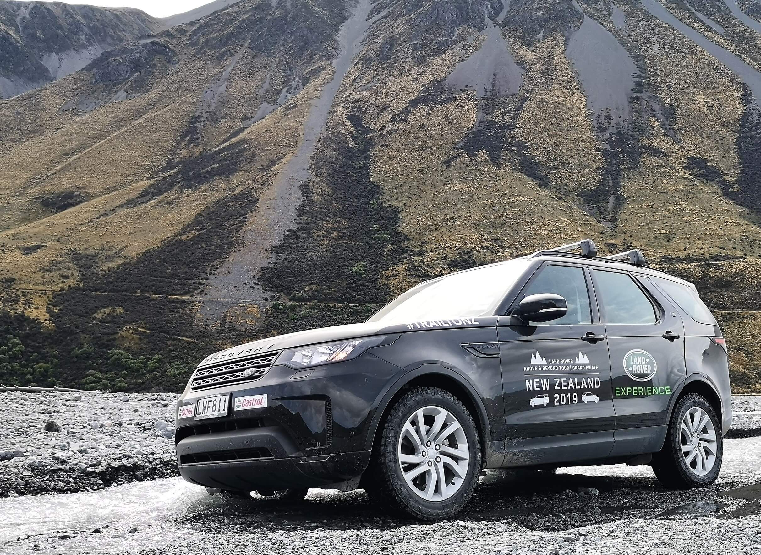 Land Rover Above and Beyond Tour Grand Finale New Zealand