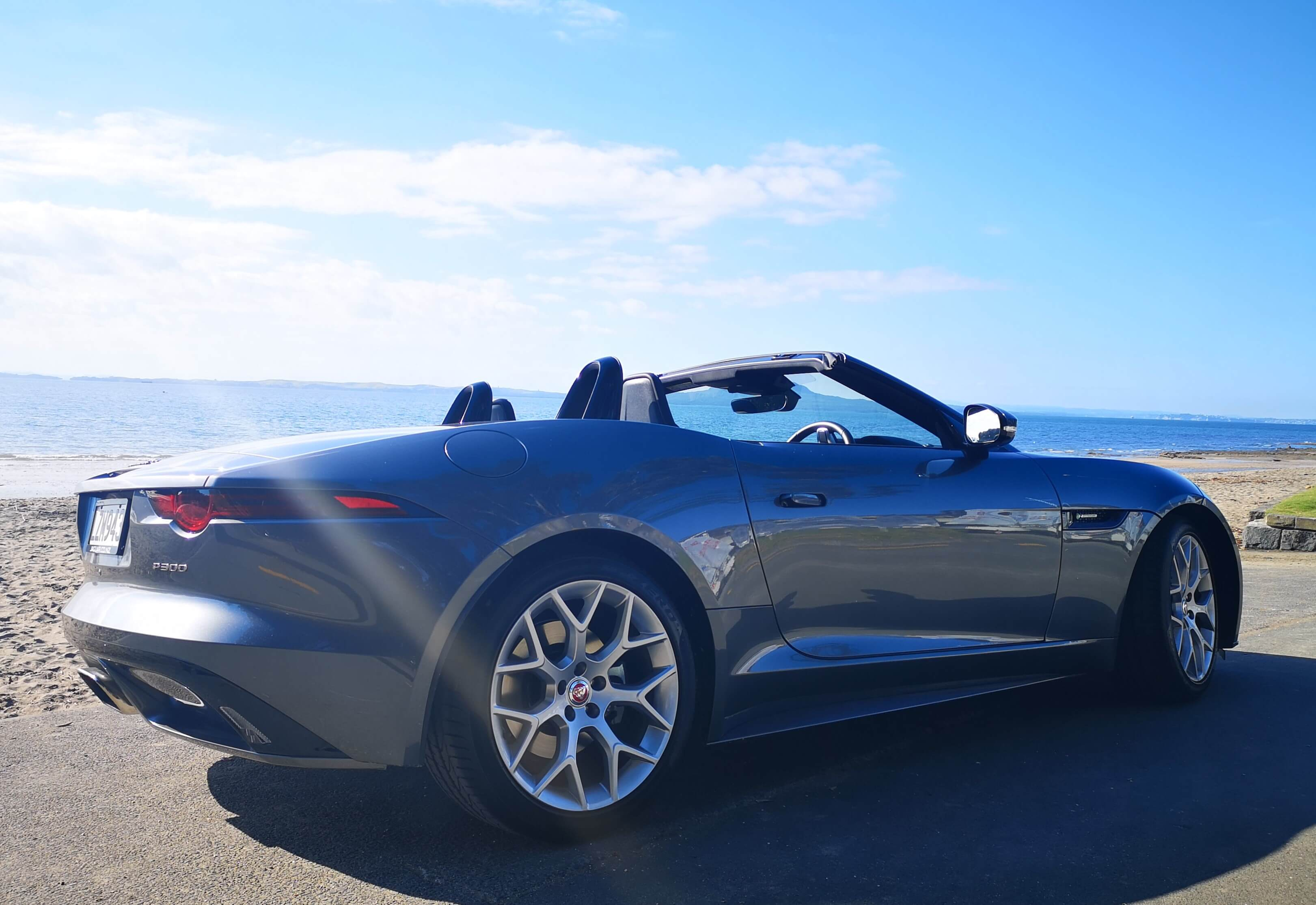 Jaguar F-Type P300 Convertible Review