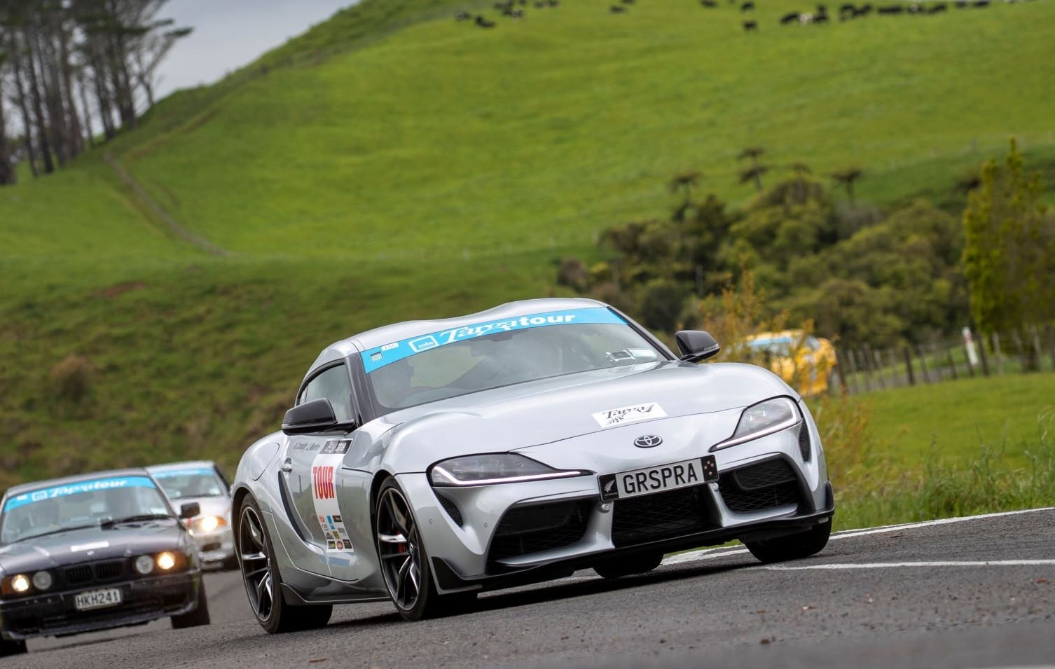 Toyota GR Supra at Targa NZ