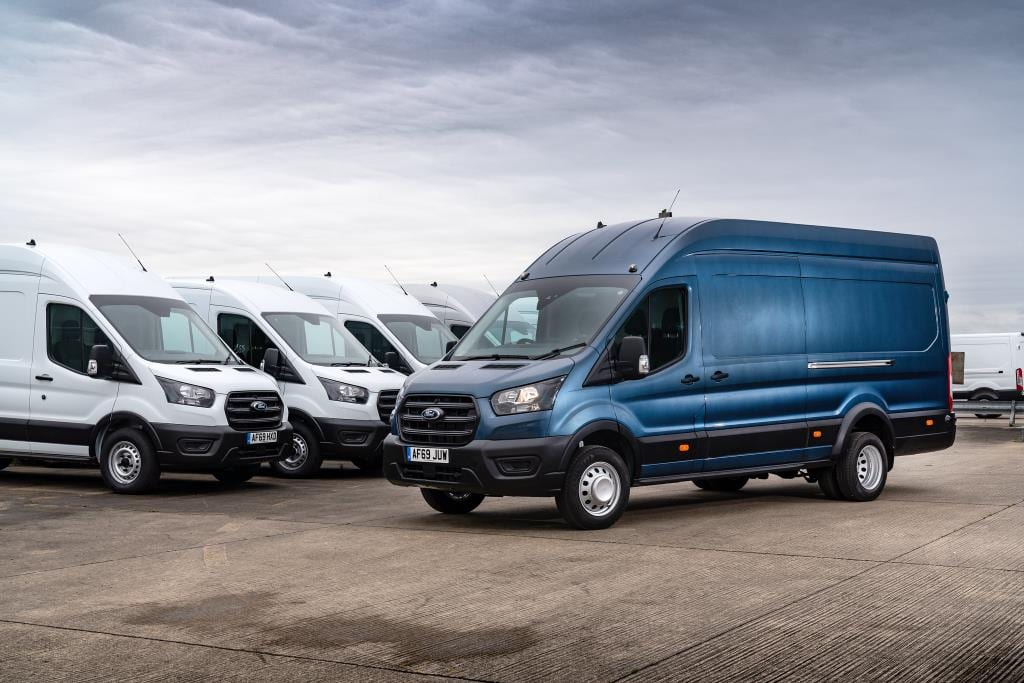 Ford's Transit fleet