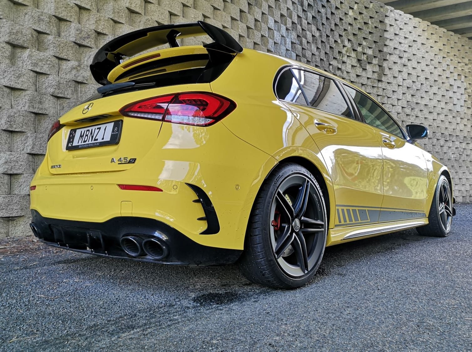 Mercedes-AMG A 45 S review NZ