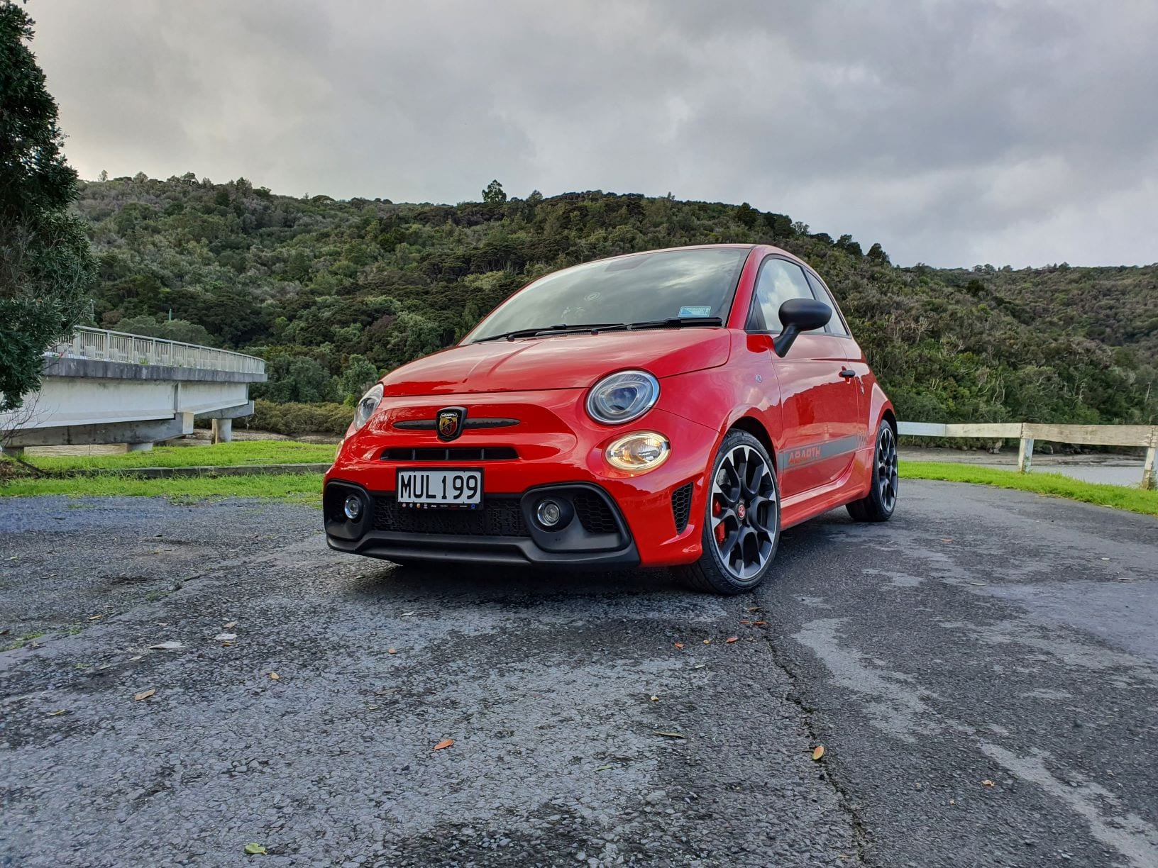 The uncomfortable but cool Abarth 595