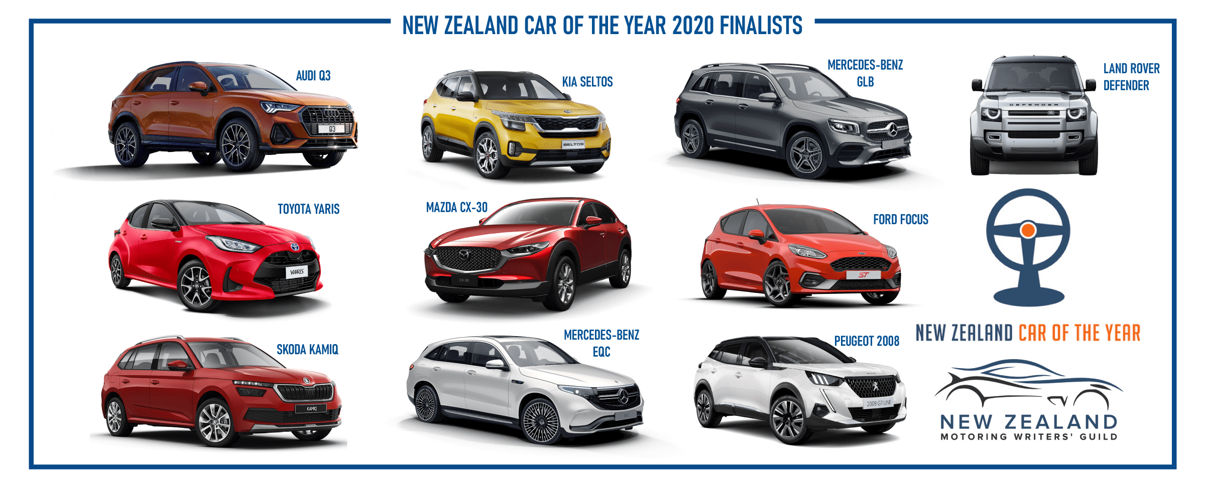 Finalists announced for NZ Car of the Year award