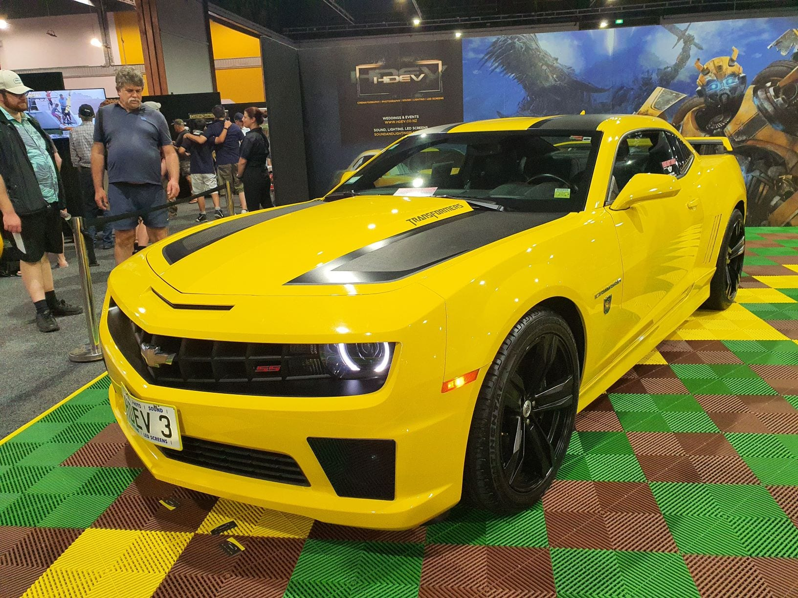 It's Bumblebee from Transformers!