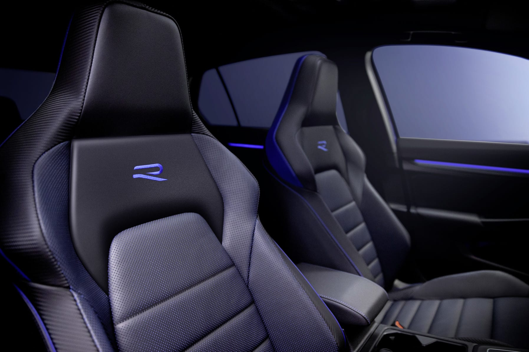 The Golf R's sports seats