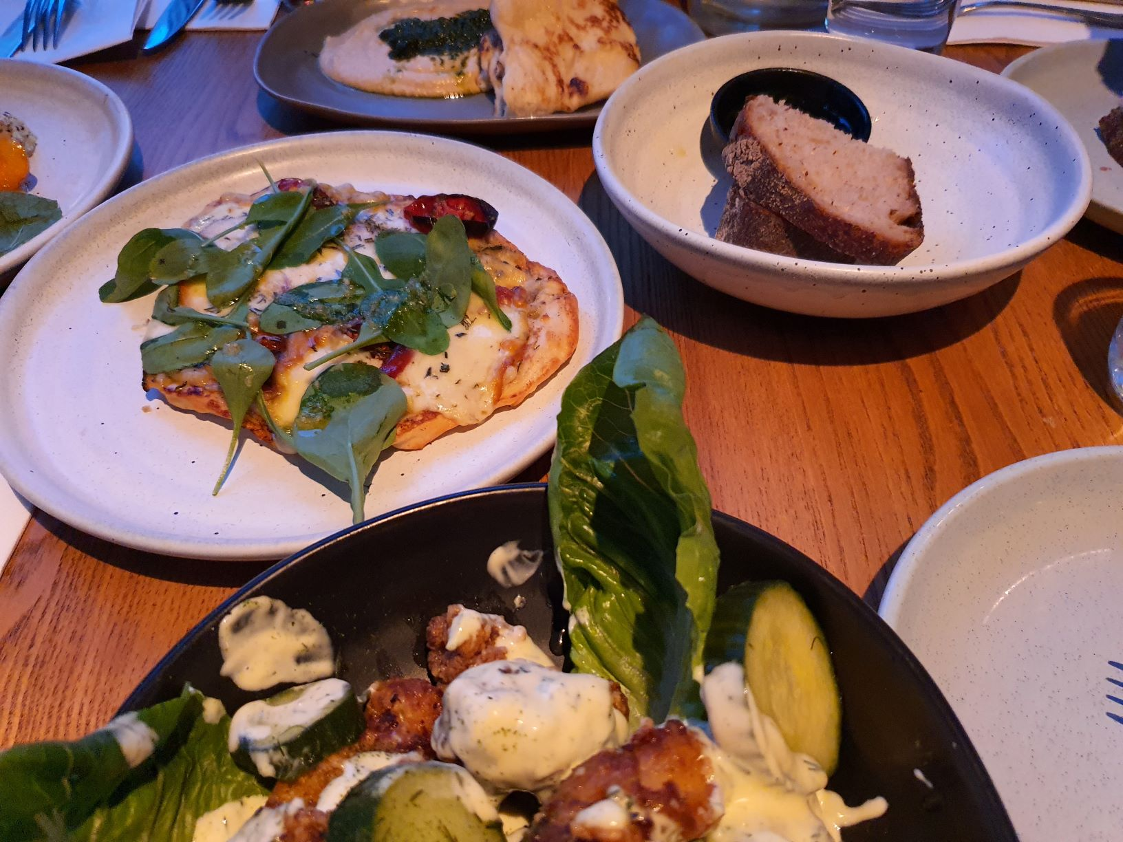 Dinner at Three Seven Two