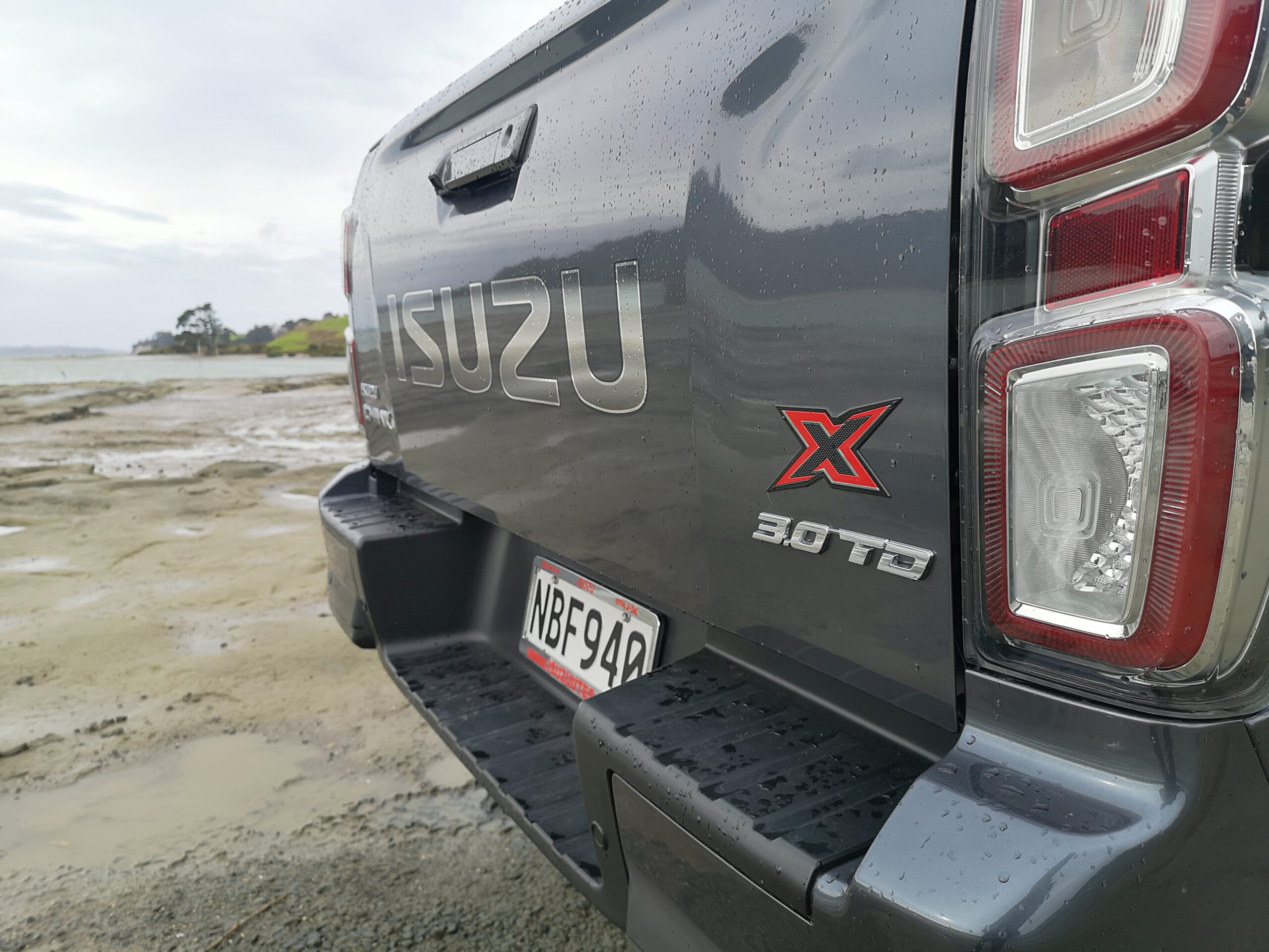 All-new D-Max tail light cluster