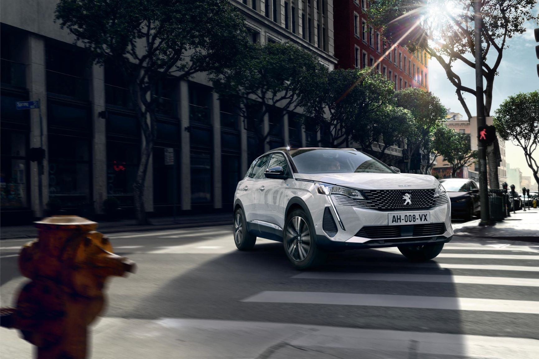 Peugeot's 3008  is the hero of the new