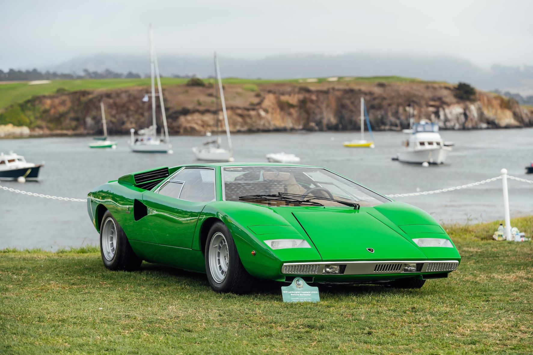 The very first Lamborghini Countach ever made