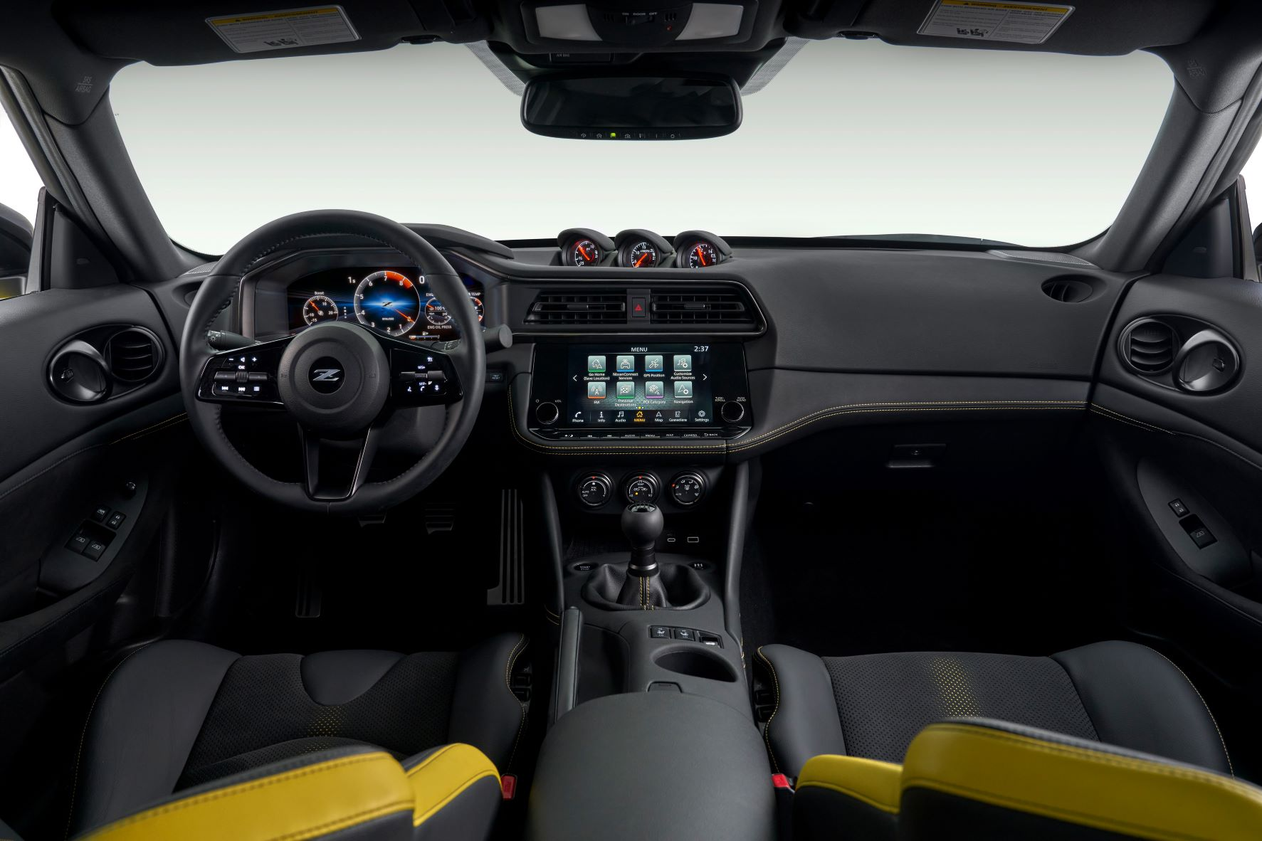Interior of the 2023 Nissan Z