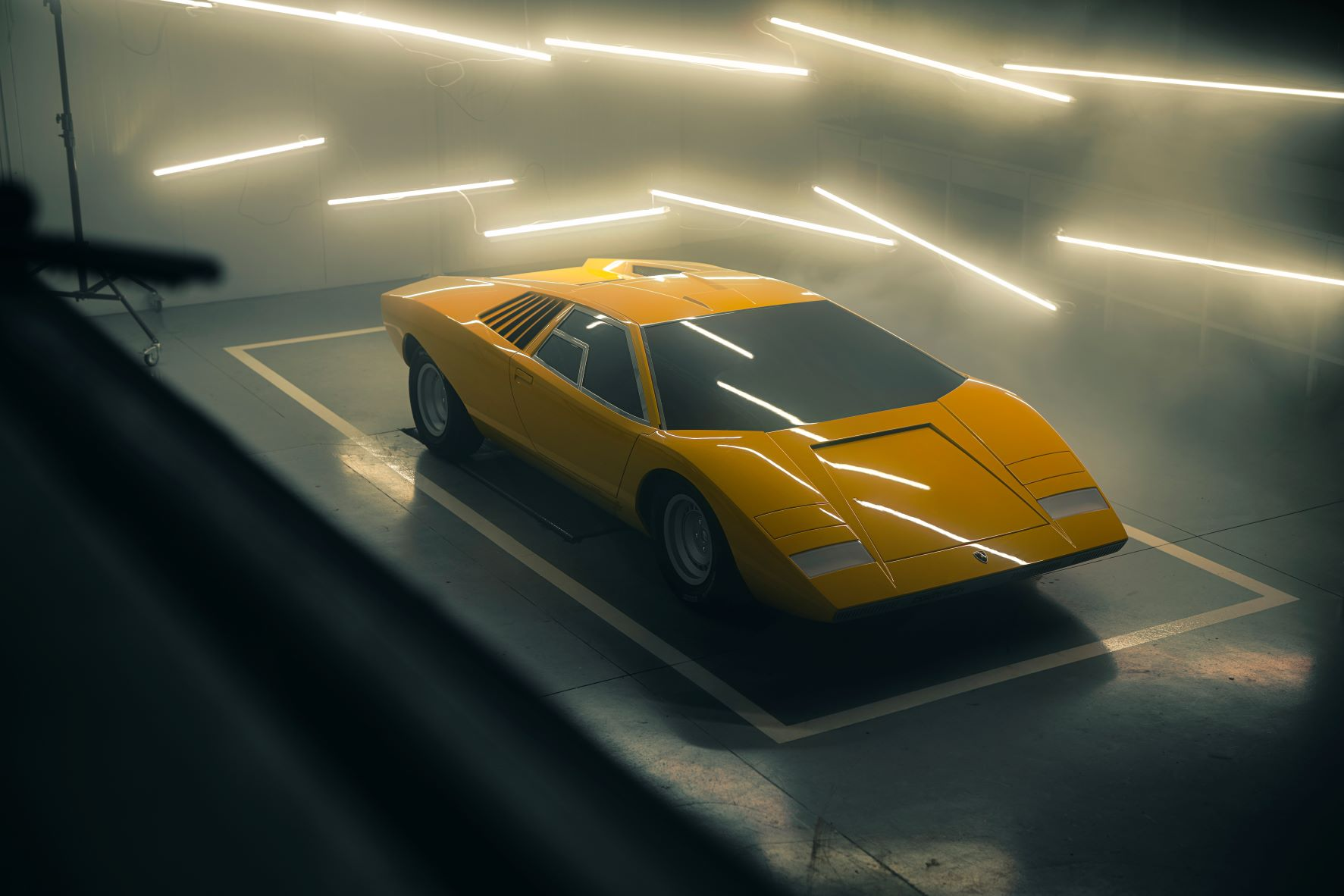 Lamborghini's recreation of the iconic Countach serial number 1