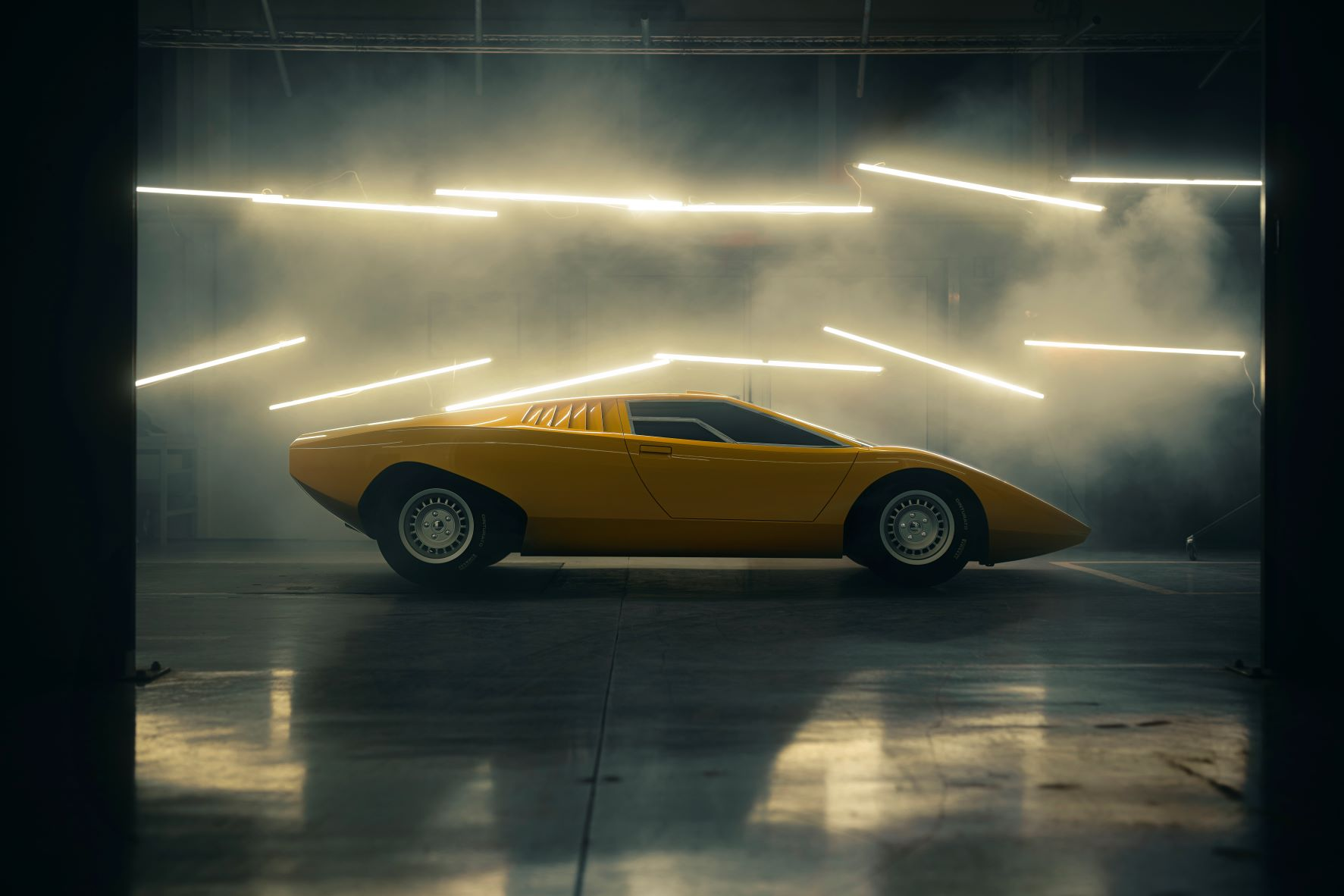 Lamborghini's exact replica of the very first Countach they ever made